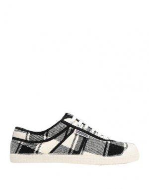 Низкие кеды и кроссовки KAWASAKI. Цвет: черный