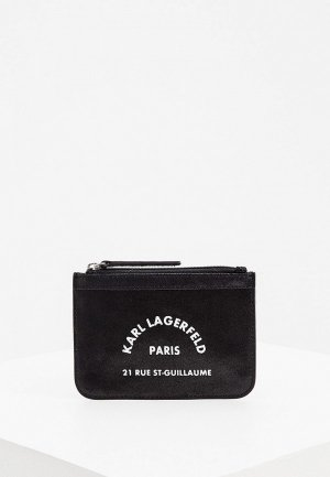 Кошелек Karl Lagerfeld Kids. Цвет: черный