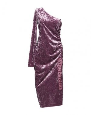 Платье длиной 3/4 ANIYE BY. Цвет: светло-фиолетовый