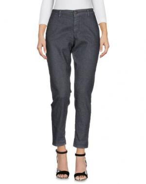 Джинсовые брюки # 7.24. Цвет: свинцово-серый