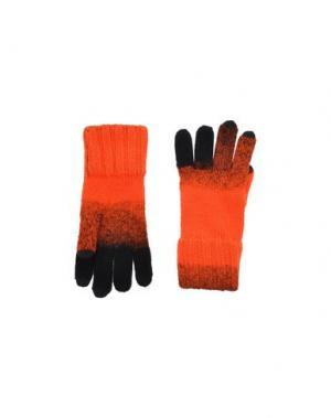 Перчатки Y-3. Цвет: оранжевый