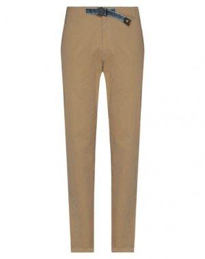 Повседневные брюки BURTON. Цвет: верблюжий