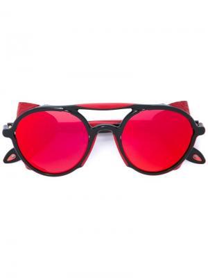 Солнцезащитные очки с оправой авиатор Givenchy. Цвет: чёрный