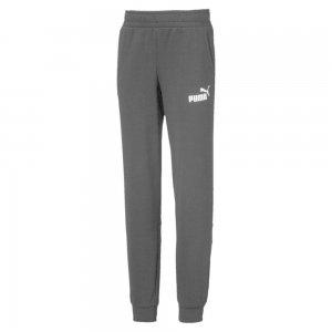 Детские штаны Amplified Sweat Pants PUMA. Цвет: черный