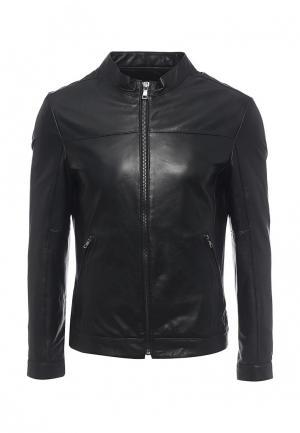 Куртка кожаная Marciano Guess MA087EMPQY84. Цвет: черный