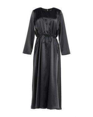 Длинное платье MAX & CO.. Цвет: свинцово-серый