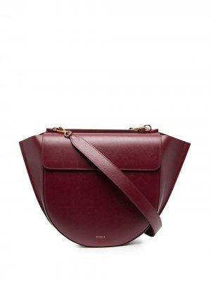 Большая сумка Hortensia Wandler. Цвет: красный