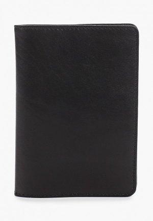 Обложка для паспорта Kofr. Цвет: черный