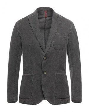 Пиджак MARTIN ZELO. Цвет: темно-коричневый