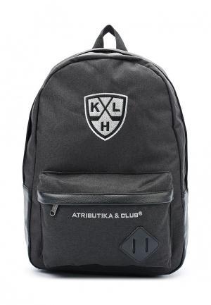 Рюкзак Atributika & Club™ КХЛ. Цвет: черный