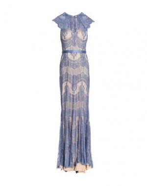 Длинное платье CATHERINE DEANE. Цвет: грифельно-синий