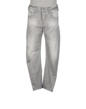 Джинсовые брюки JAPAN RAGS. Цвет: серый