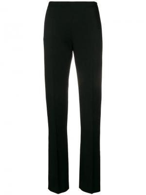 Классические брюки узкого кроя Valentino. Цвет: черный