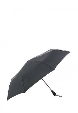 Зонт складной Fulton. Цвет: черный