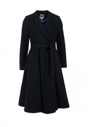 Пальто Libellulas. Цвет: синий