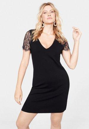 Платье Violeta by Mango - GRACE. Цвет: черный
