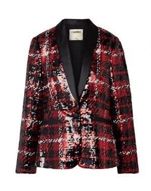 Пиджак L'AGENCE. Цвет: красный