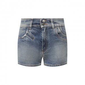 Джинсовые шорты Givenchy. Цвет: синий
