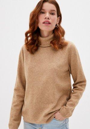 Свитер Selected Femme. Цвет: коричневый