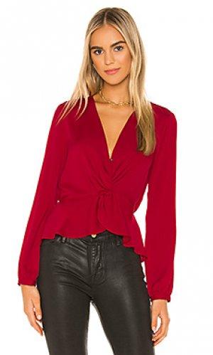 Блузка twist BCBGeneration. Цвет: красный