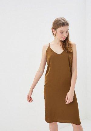 Платье GALOLBO. Цвет: хаки