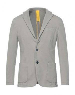 Пиджак ARMATA DI MARE. Цвет: голубиный серый