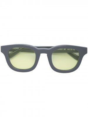 Солнцезащитные очки Monopoly в квадратной оправе Thierry Lasry. Цвет: серый