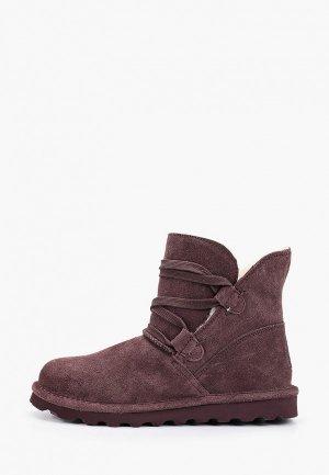Ботинки Bearpaw Zora. Цвет: фиолетовый