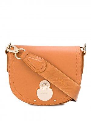 Сумка через плечо Cavalcade Longchamp. Цвет: коричневый