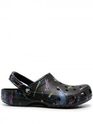 Кроксы Out of this World II Crocs. Цвет: черный