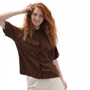 Рубашка Wild Woven Buttondown VANS. Цвет: коричневый