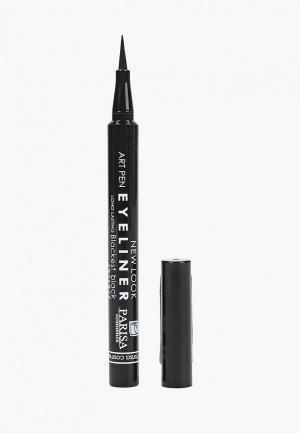 Подводка для глаз Parisa waterproof eyeliner, 0.85 мл. Цвет: черный