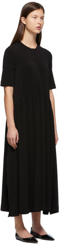 Black Viadana Dress Max Mara Leisure. Цвет: 003 black