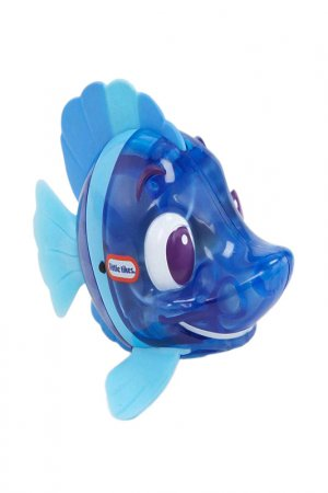 Рыбка Огонек (рыба-ласточка) Little Tikes. Цвет: синий