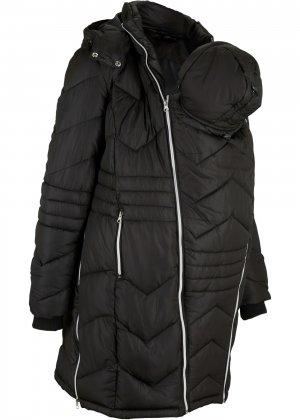 Пальто для беременных bonprix. Цвет: черный