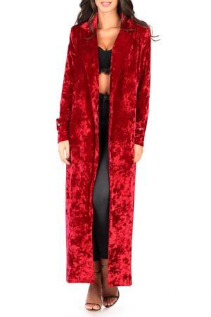 Пальто CARLA BY ROZARANCIO. Цвет: красный