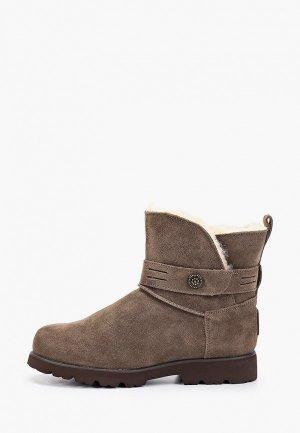 Ботинки Bearpaw Wellston. Цвет: коричневый