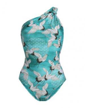 Слитный купальник LENNY NIEMEYER. Цвет: изумрудно-зеленый