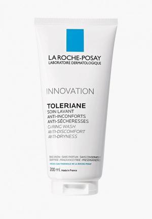 Гель для умывания La Roche-Posay TOLERIANE CARING WASH Очищающий, 200 мл.. Цвет: белый