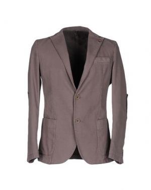 Пиджак ALV ANDARE LONTANO VIAGGIANDO. Цвет: свинцово-серый