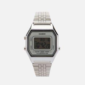 Наручные часы Collection LA680WEA-7E CASIO. Цвет: серебряный