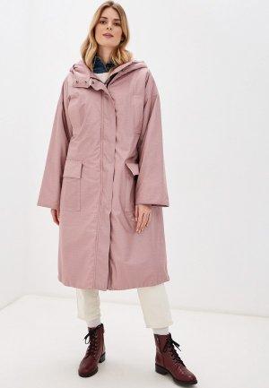 Куртка утепленная Kata Binska. Цвет: розовый