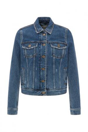 Куртка джинсовая Mustang. Цвет: denim blue