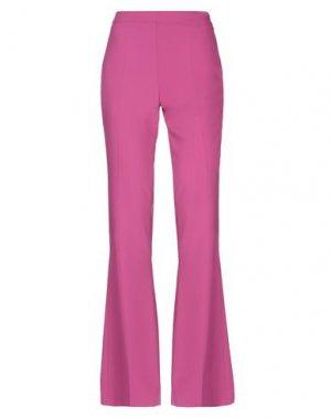 Повседневные брюки COMPAGNIA ITALIANA. Цвет: фуксия