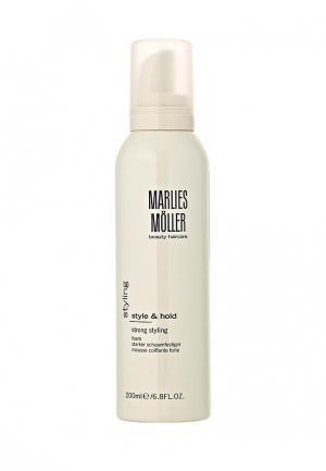 Пена для укладки Marlies Moller StylIng сильной фиксации 200 мл. Цвет: белый