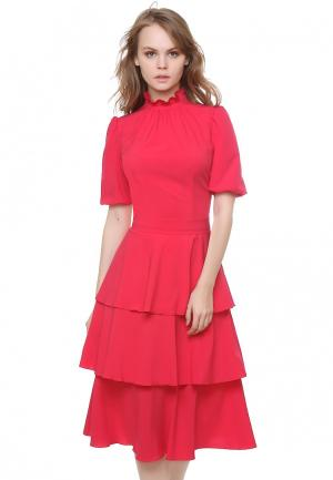 Платье Marichuell LOREN. Цвет: красный