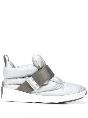 Ботинки с меховой подкладкой Sorel. Цвет: серебристый