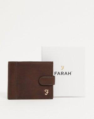 Бумажник Ashington-Коричневый Farah