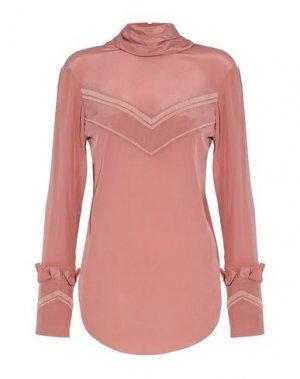 Блузка NINA RICCI. Цвет: пастельно-розовый