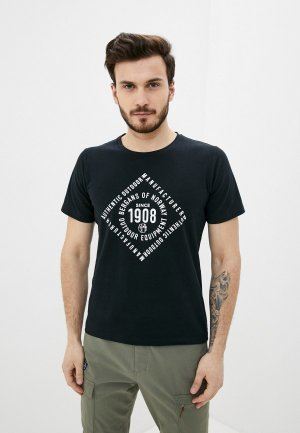 Футболка Bergans of Norway 1908 Tee. Цвет: черный